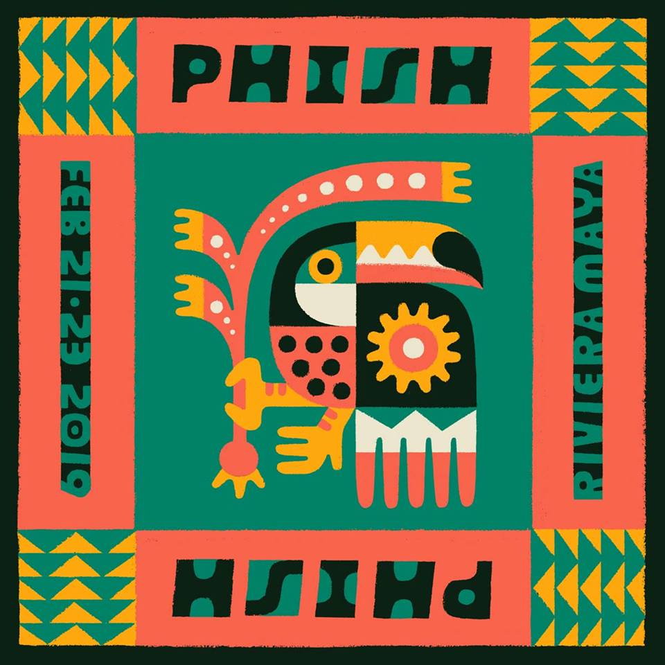 PHISH Live from Riviera Maya, MX 2/21/2019 Set II Web Cast Is Currently Free to View