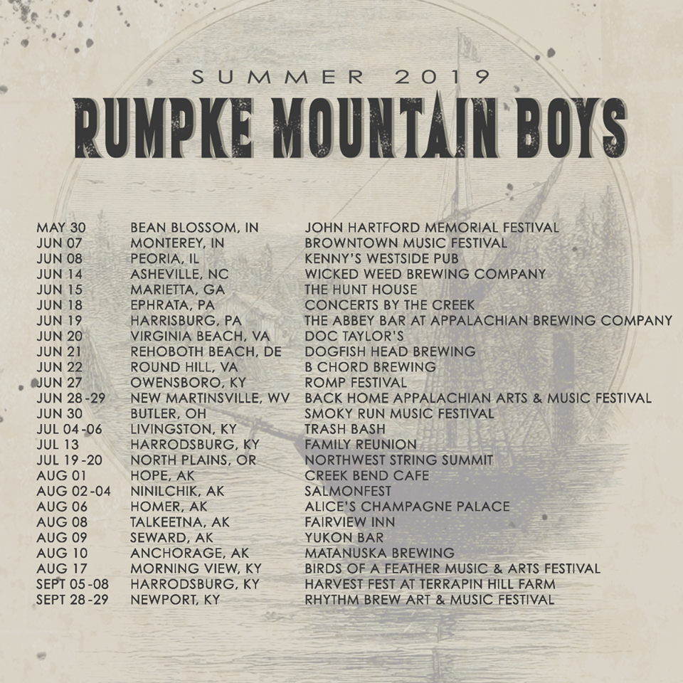 Rumpke Mountain Boys Summer Tour