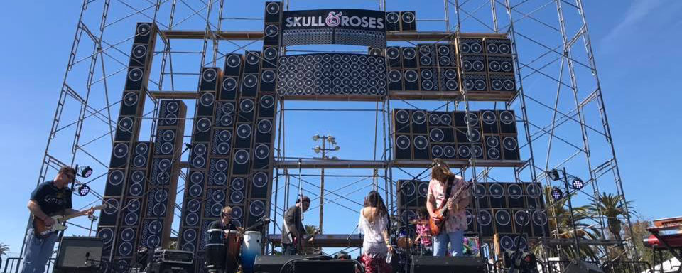 Grateful Dead Inspired Skull & Roses is not a Festival it's Tradition