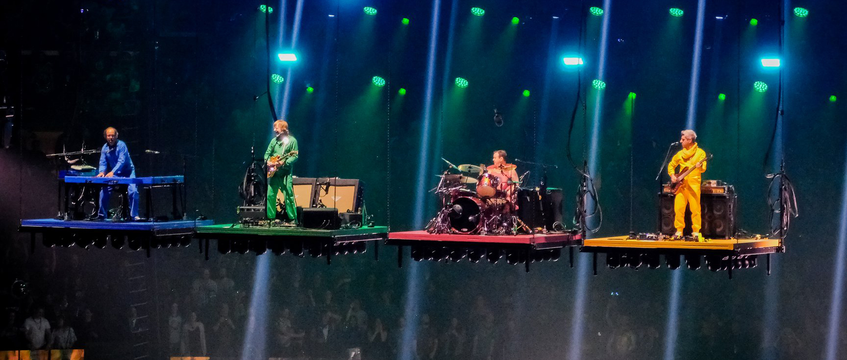 Phish releases New Year's Eve 2019 Gag Video in beautiful 4K/HDR.
