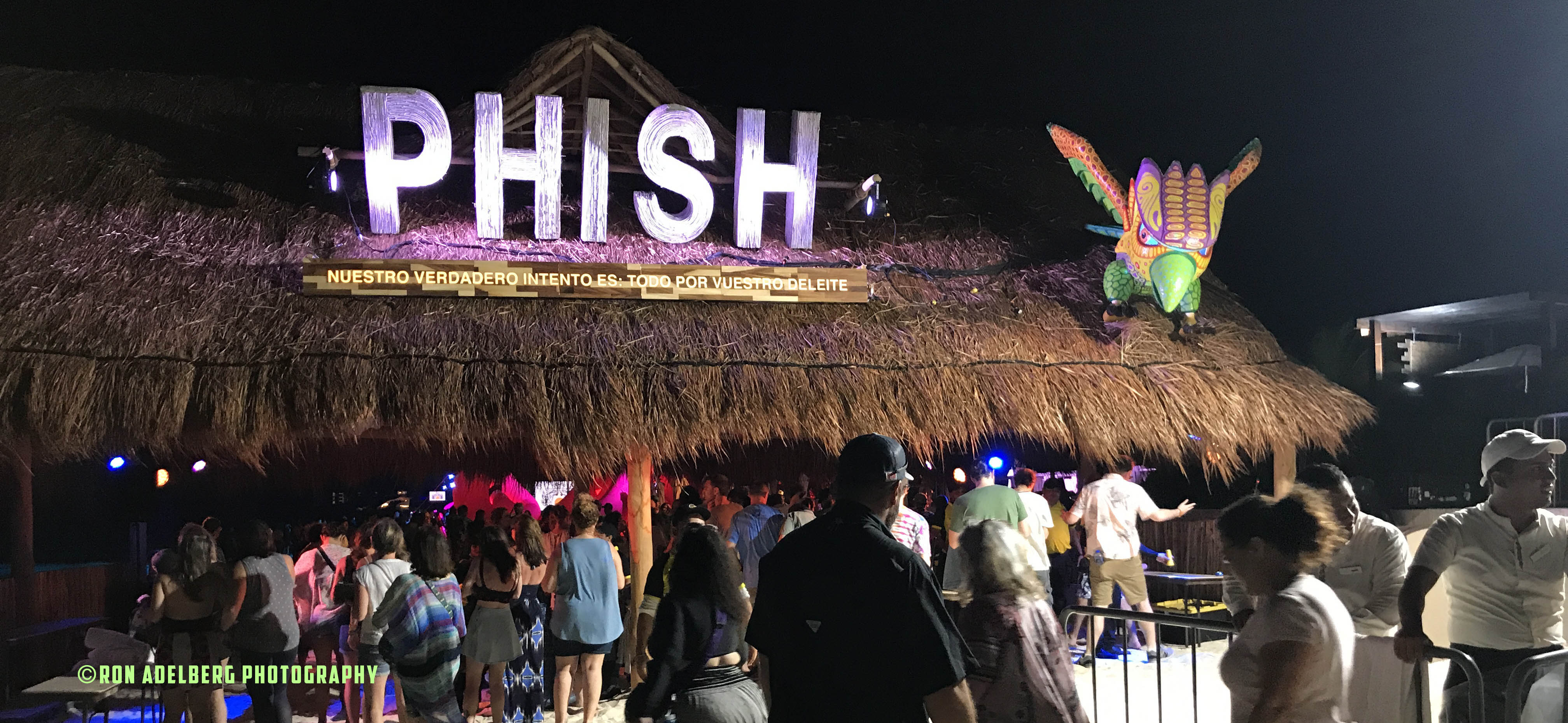 """Waves"" pro shot video from Phish's 2/22/2020 show at Moon Palace Resort, Riviera Maya, MX."